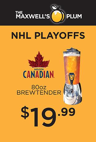 NHL Playoffs $19.99 80oz Brewtender Molson Canadian
