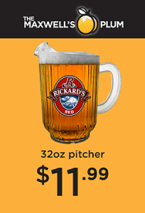 Rickard's Red 32oz pitcher for only $11.99