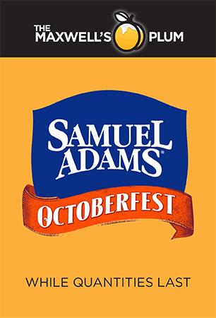 Samuel Adams Octoberfest Legar. while quantities last.
