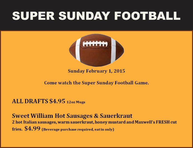 Super Sunday Special