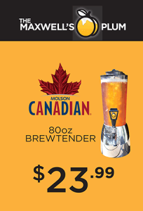 Molson Canadian Brewtender only $23.99